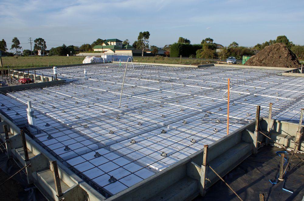 pre-pour inspection on new construction