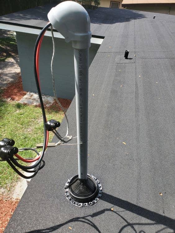 service mast drip loop