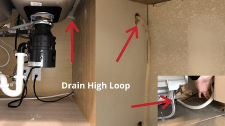 Dishwasher Drain High Loop