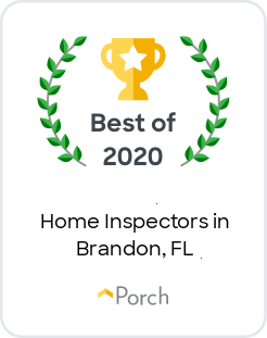 Best Home Inspectors in Brandon, FL Badge