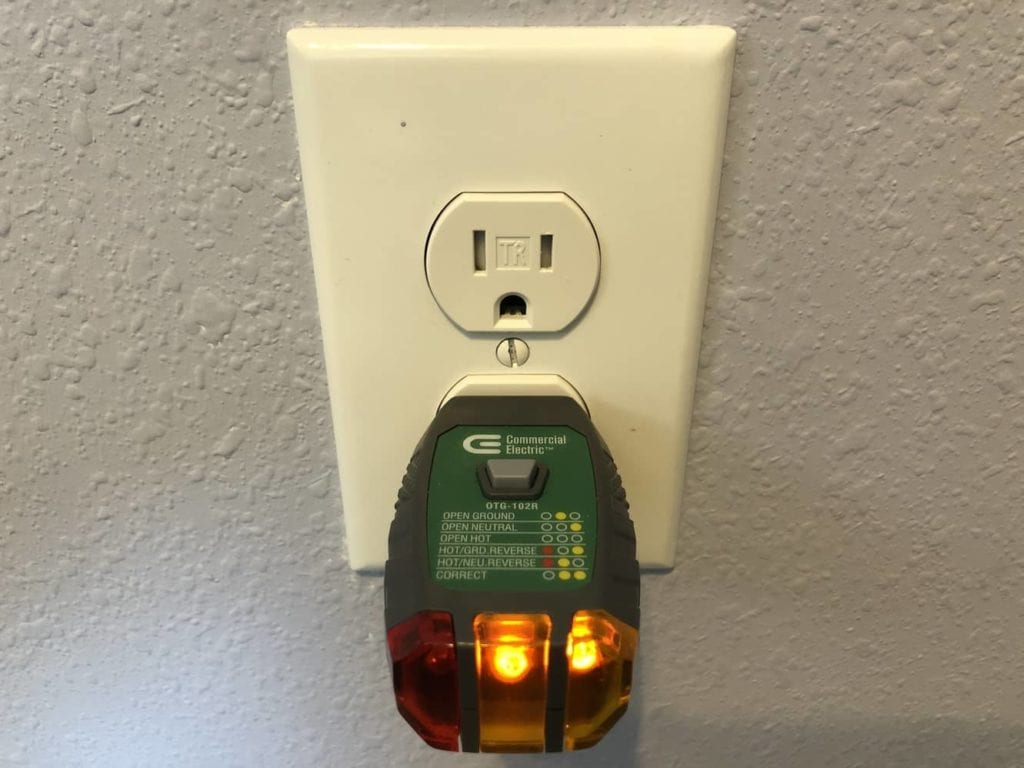 Properly wired outlet